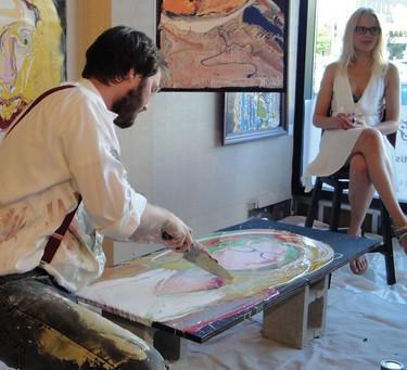 Corks & Canvas Art & Wine Walk