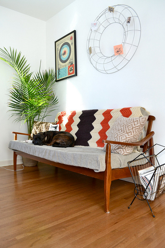 Couch in Botny Studio