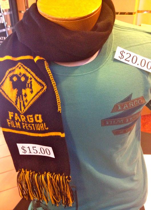 Fargo Film Festival T-Shirt and Scarf