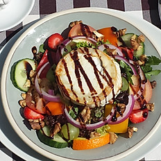Warm Goats Cheese and Walnut Salad
