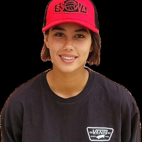 SSOVA Flex Fit Red Hat- Large