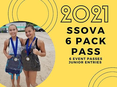 6 Pack Junior Entries ($135 in Savings!)