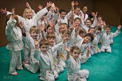 une partie des Baby-judo du samedi
