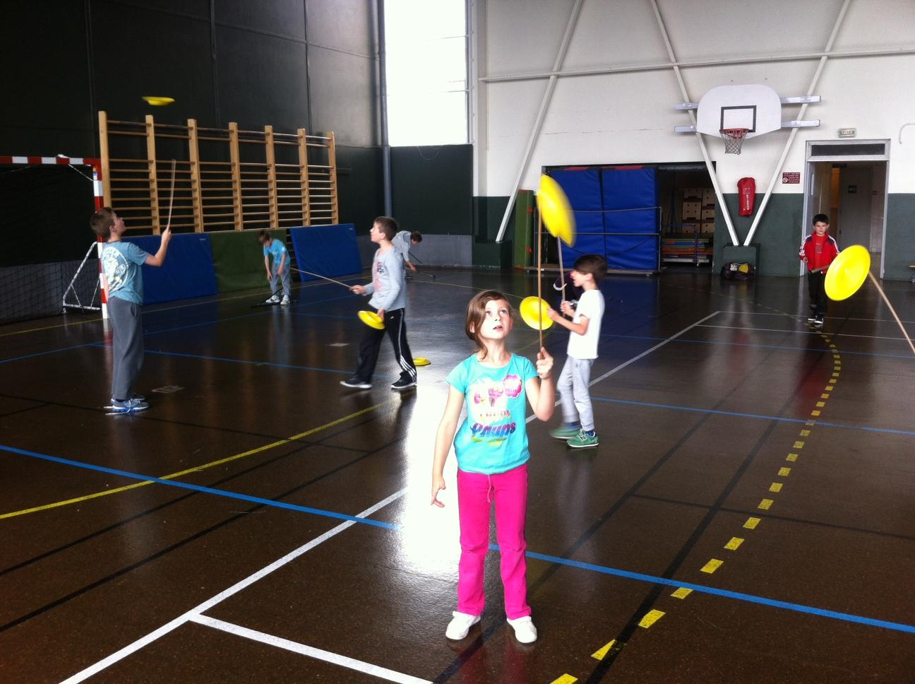 Activité cirque
