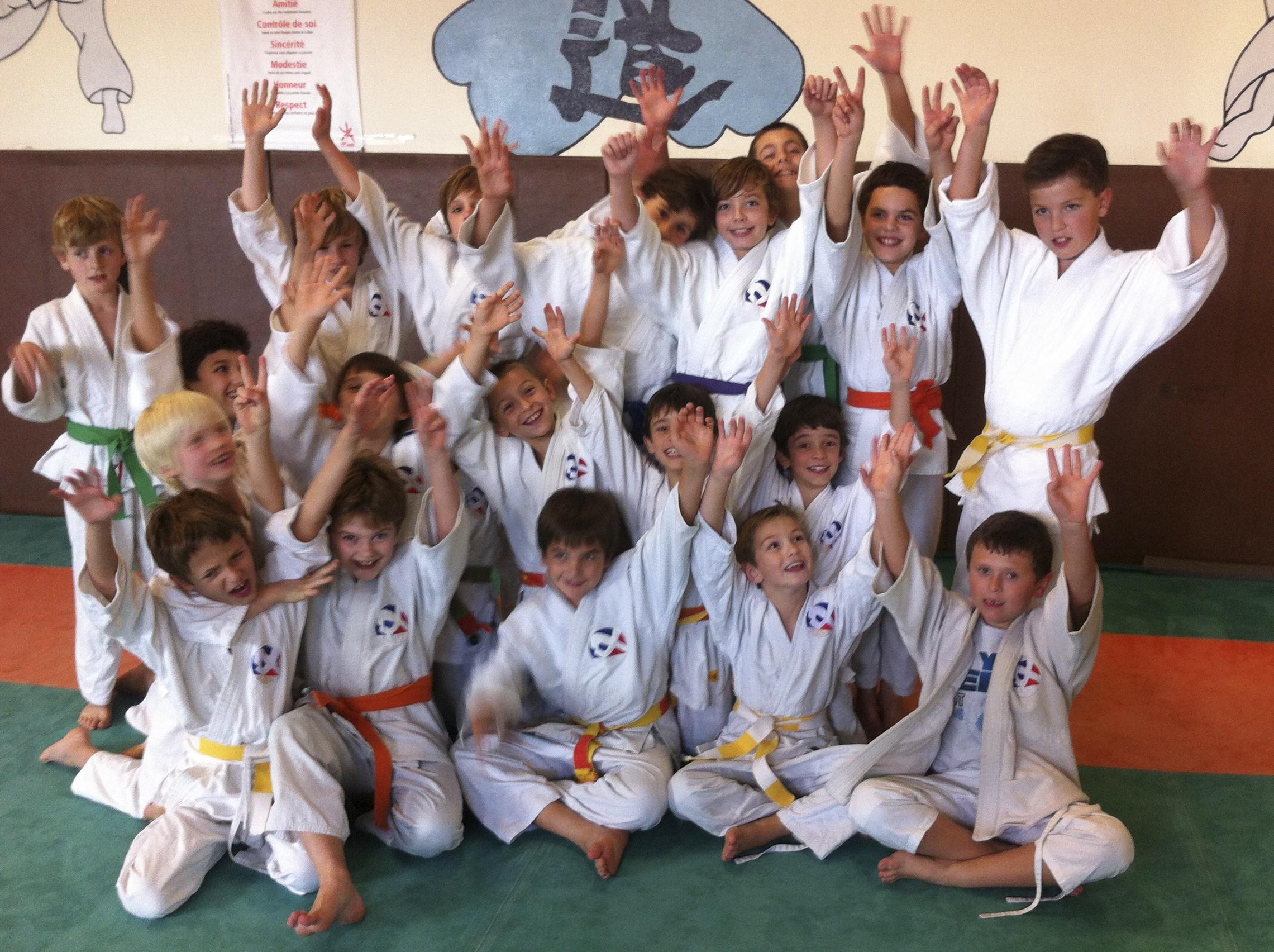 Le judo c'est pas pour les rigolos