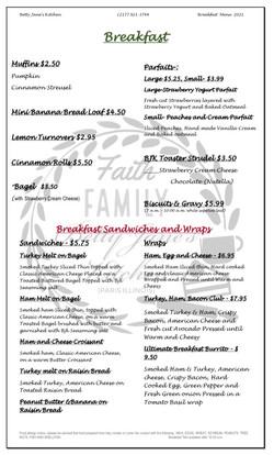 Breakfast April 2021