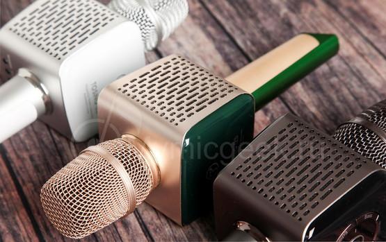 колонки караоке микрофона