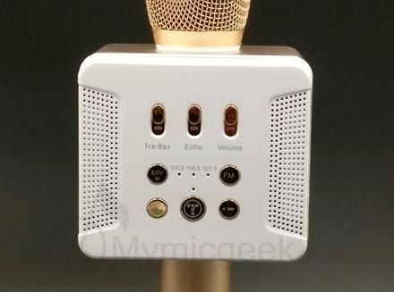 панель управления микрофоном