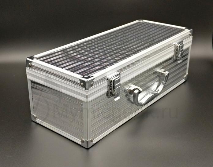 металлический чемоданчик для караоке мик