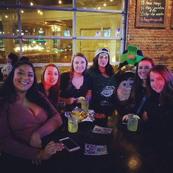 Shamus and the Promo Team out makin' friends! #idt2018 #theirishdrinkingteam #promo #outnabout #spok