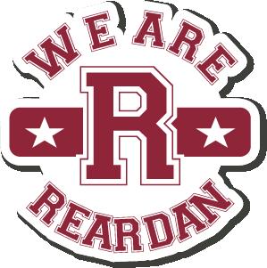 """We Are Reardan   4"""" Sticker"""