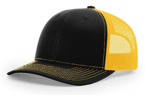 Richardson Trucker Hat 112 | Gold Colorways