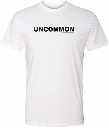 The Dillon Burns Collection | White Adult Tee | Uncommon