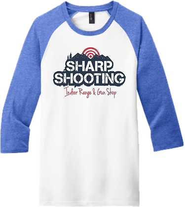 3/4-Sleeve Raglan   Sharp Shooting
