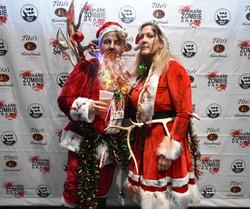 Spokane Zombie Crawl Santa