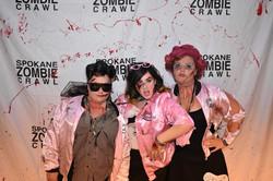 Spokane Zombie Crawl Pink Ladies