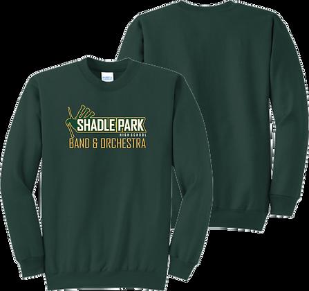 Shadle Park Band & Orchestra   Adult Crewneck Sweatshirt
