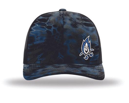Richardson Kryptek Trucker Hat   Avista Flame