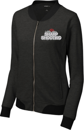 Ladies Lightweight French Terry Bomber | Sharp Shooting