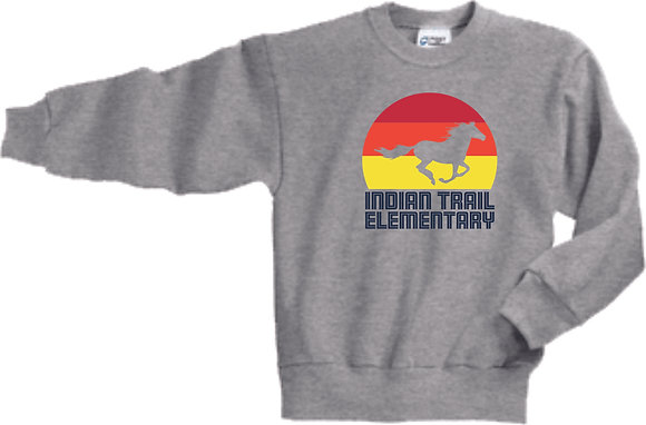 Indian Trail Elementary | Youth Crewneck Sweatshirt