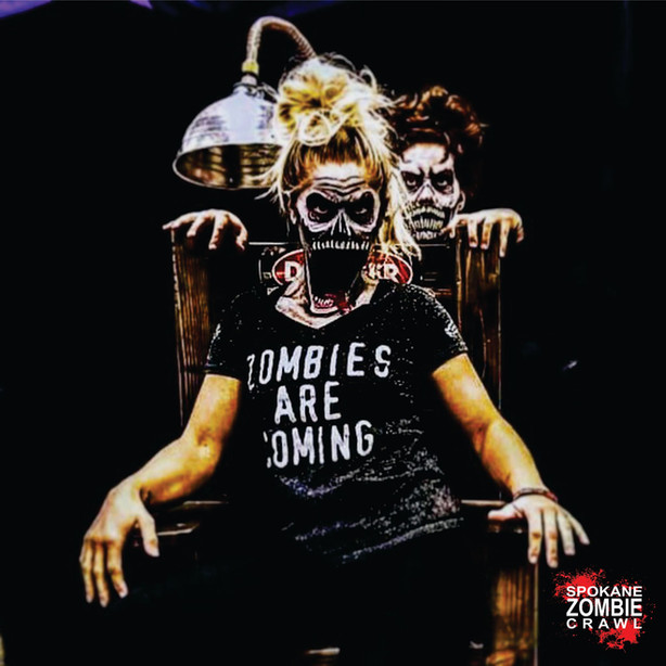 Zombies are coming First Saturday in October!