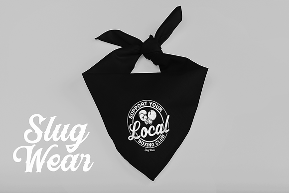 Support You Local Boxing Bandanna  | Slug Wear