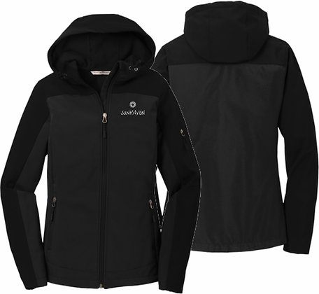 Ladies Hooded Core Soft Shell Jacket | Sunhaven Arena