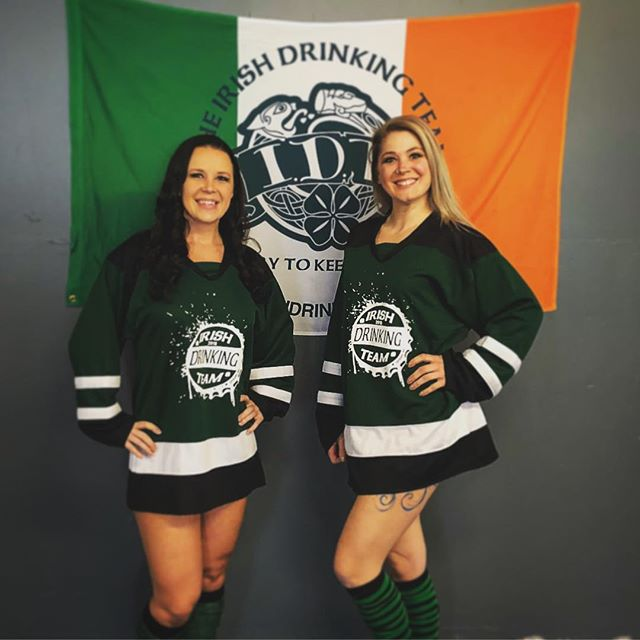 Check out the Hockey Jerseys! Stop into Brunette Sportswear and try them on! #idt2018 www.theirishdr