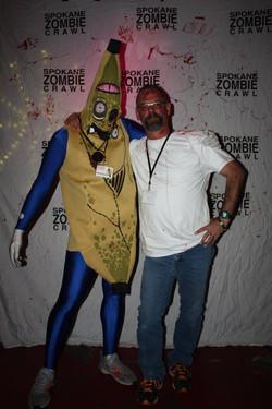 Spokane Zombie Crawl Banana