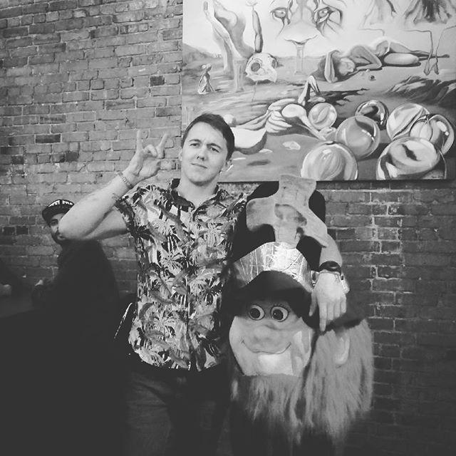 Shamus always smiling! #idt2018 #areyouready #pubcrawl #spokane #startyourownchapter www.theirishdri