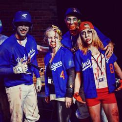 Spokane Zombie Crawl Baseball Team