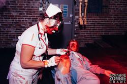 Spokane Zombie Crawl Nurse