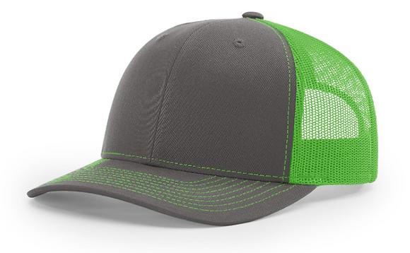 Richardson Trucker Hat 112   Neon Colorways