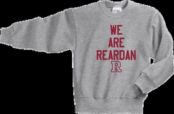 We Are Reardan   Youth Crewneck Sweatshirt