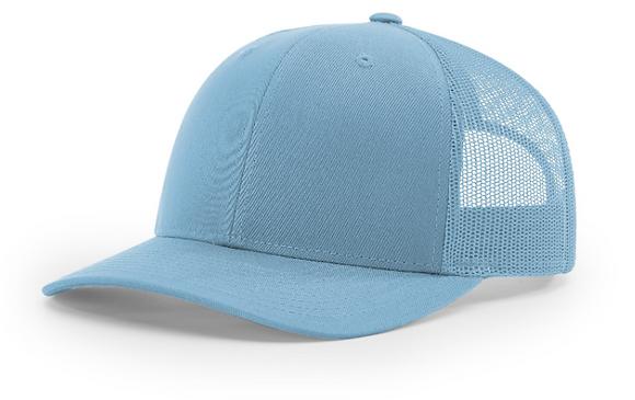 Richardson Trucker Hat 112 | Columbia Blue Colorways