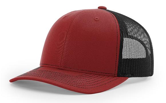 Richardson Trucker Hat 112   Cardinal Colorways