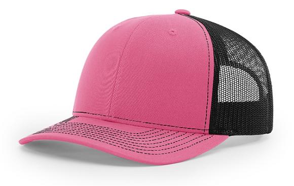 Richardson Trucker Hat 112   Pink Colorways