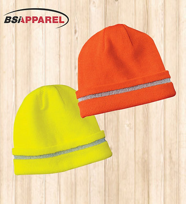 CornerStone® - Enhanced Visibility Beanie with Reflective Stripe