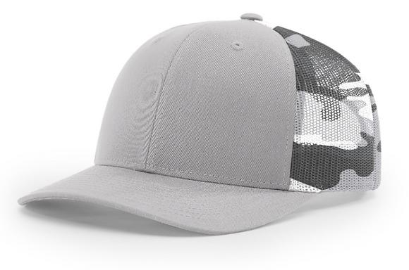 Richardson Trucker Hat 112PM | Camo Collection