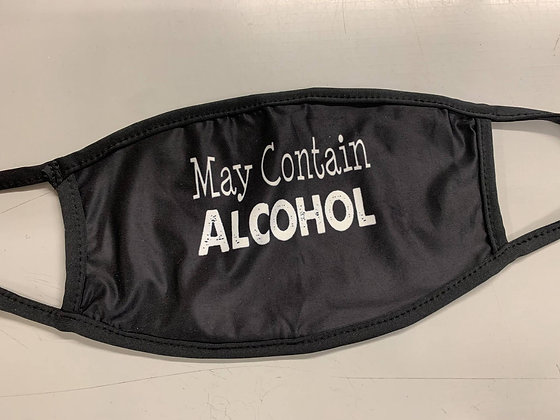 May Contain Alcohol | Adult Mask