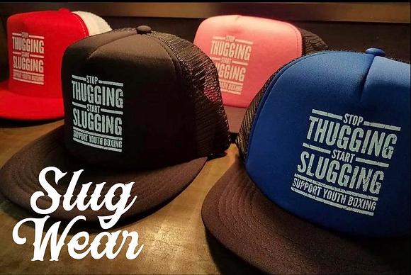 Stop Thugging Start Slugging Trucker Hat | Slug Wear