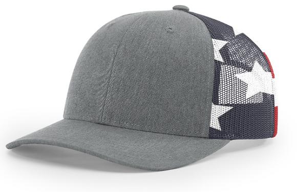 Richardson Trucker Hat 112PM | Stars & Stripes Collection