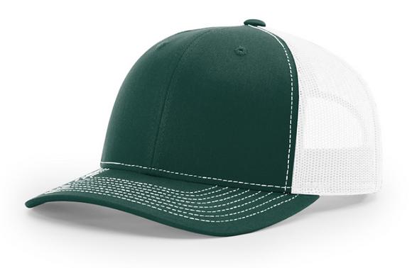 Richardson Trucker Hat 112 | Dark Green Colorways