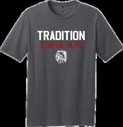 Tradition Starts Here Adult Tee   Reardan Alumni
