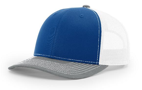 Richardson Trucker Hat 112 | Tri-Color