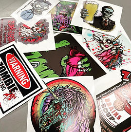 Spokane Zombie Crawl Stickers