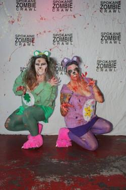 Spokane Zombie Crawl Care Bears