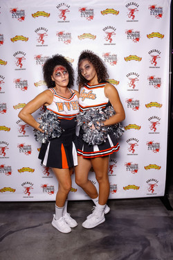 Spokane Zombie Crawl Cheerleaders