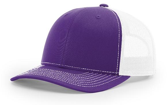 Richardson Trucker Hat 112 | Purple Colorways