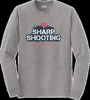 Gildan® - DryBlend® 50 Cotton/50 Poly Long Sleeve T-Shirt   Sharp Shooting